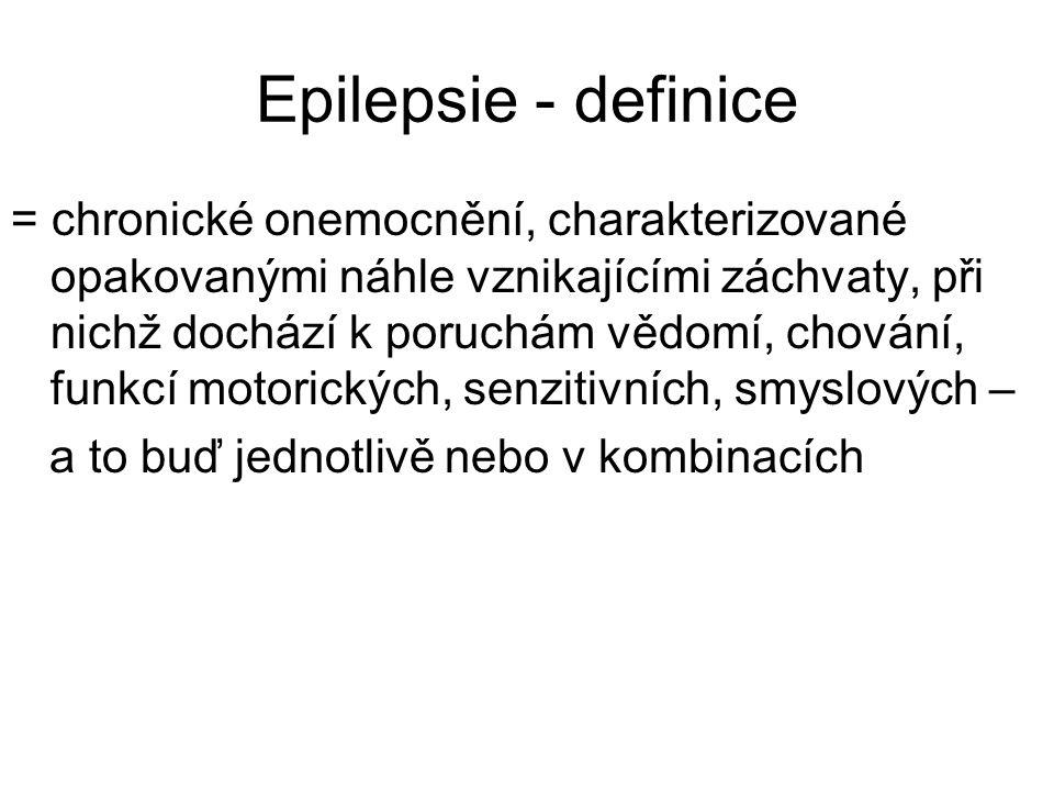 Epilepsie - definice