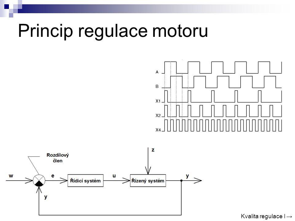 Princip regulace motoru