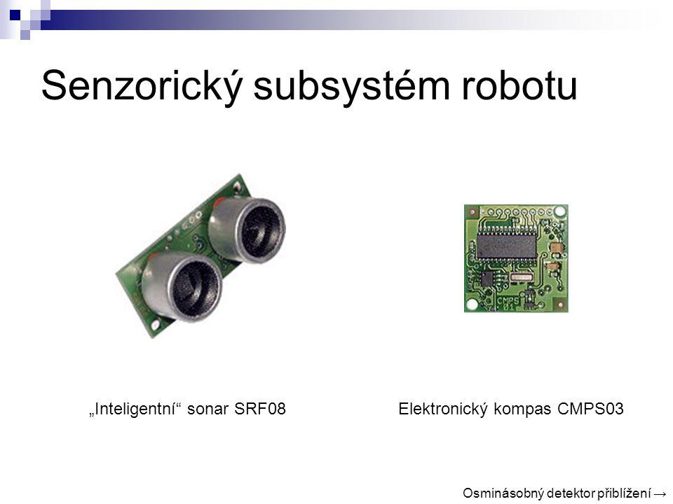 Senzorický subsystém robotu