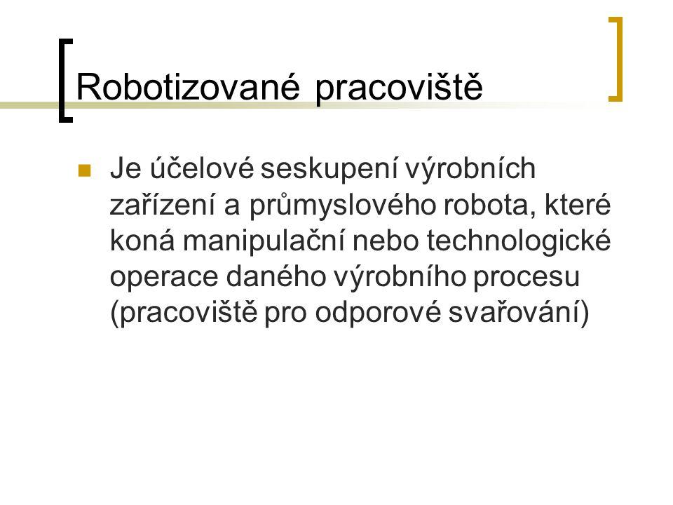 Robotizované pracoviště
