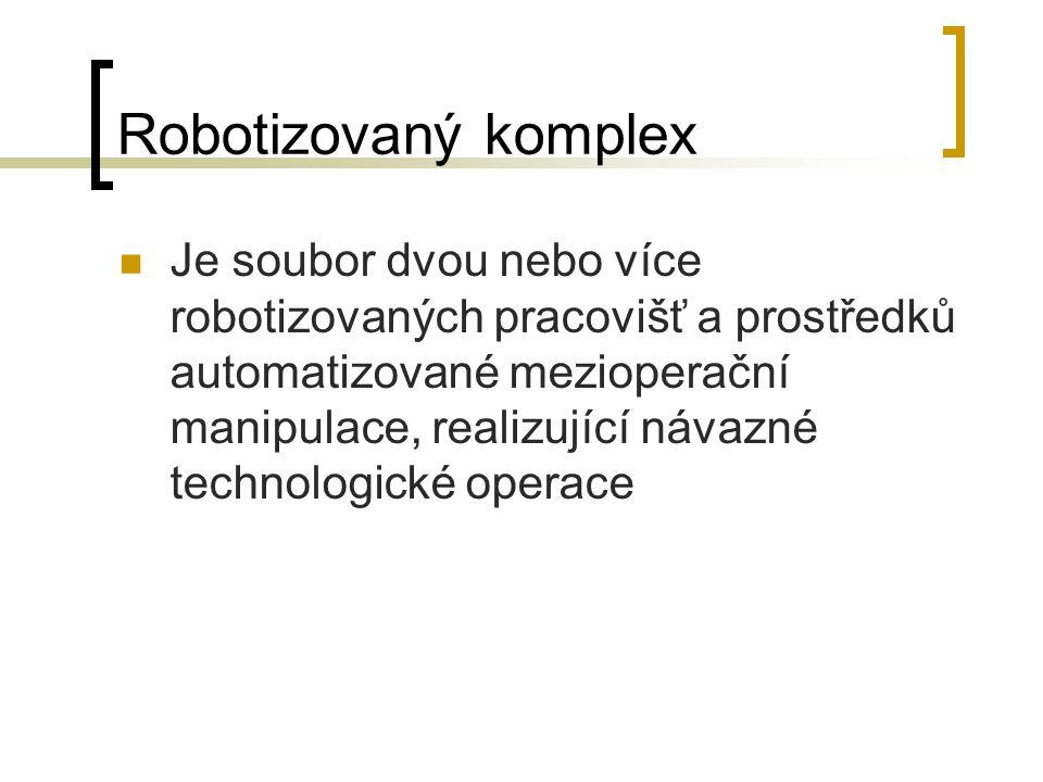 Robotizovaný komplex