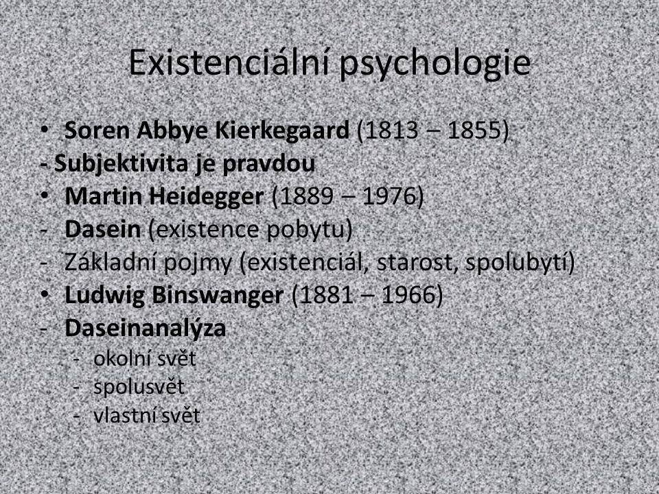 Existenciální psychologie