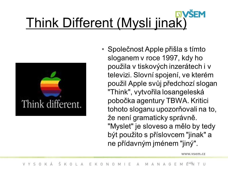 Think Different (Mysli jinak)