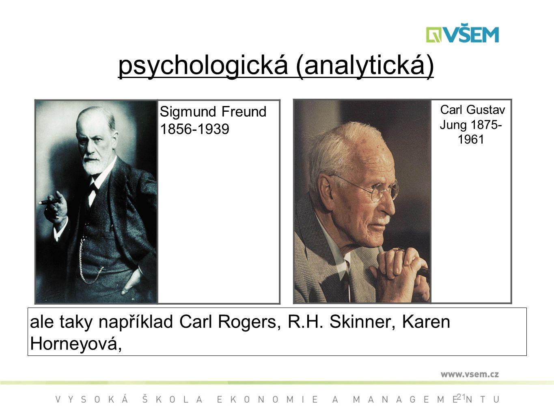 psychologická (analytická)