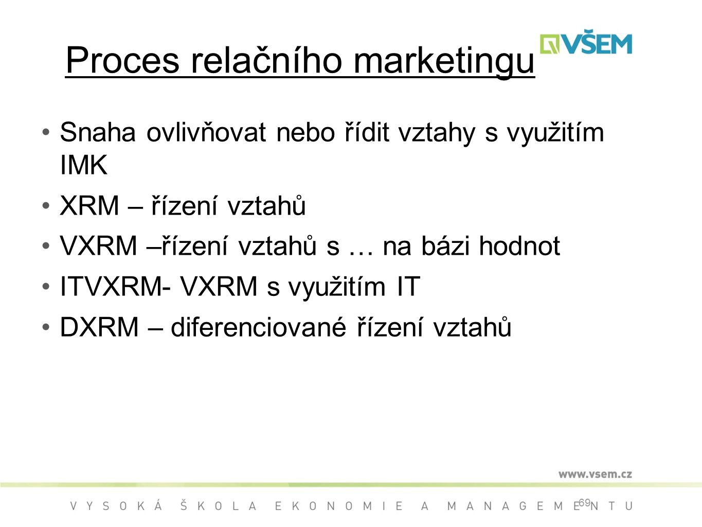 Proces relačního marketingu