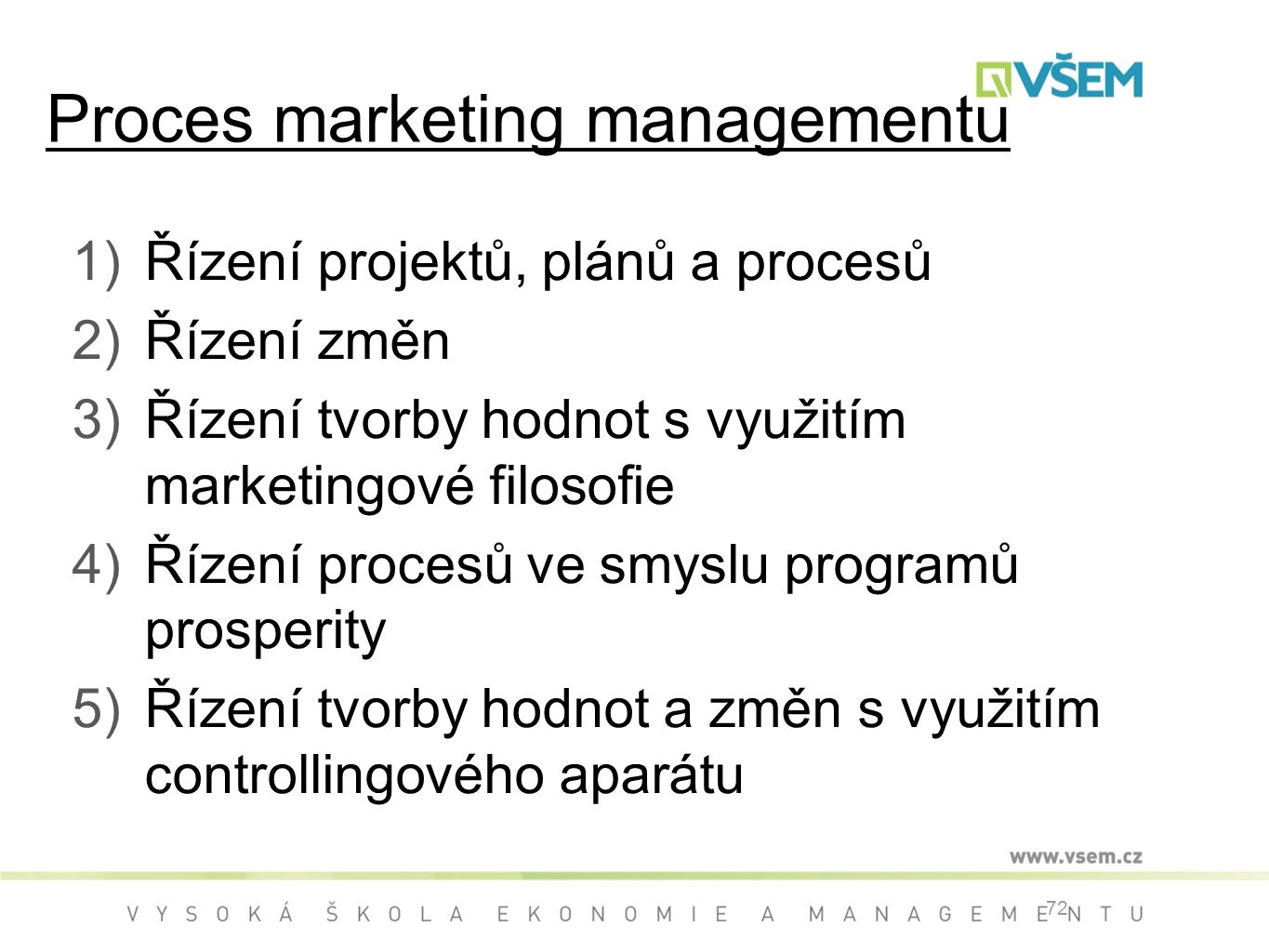 Proces marketing managementu