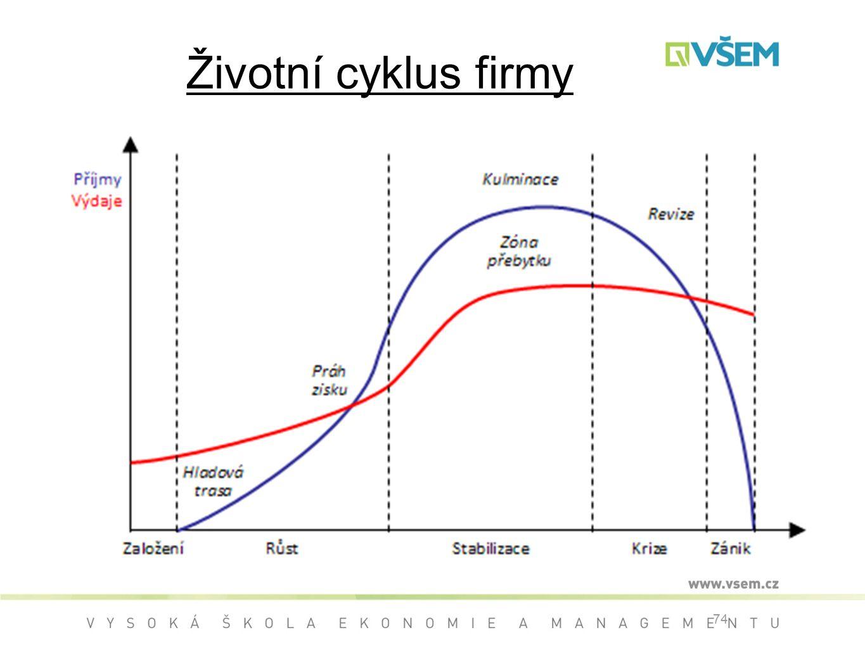 Životní cyklus firmy