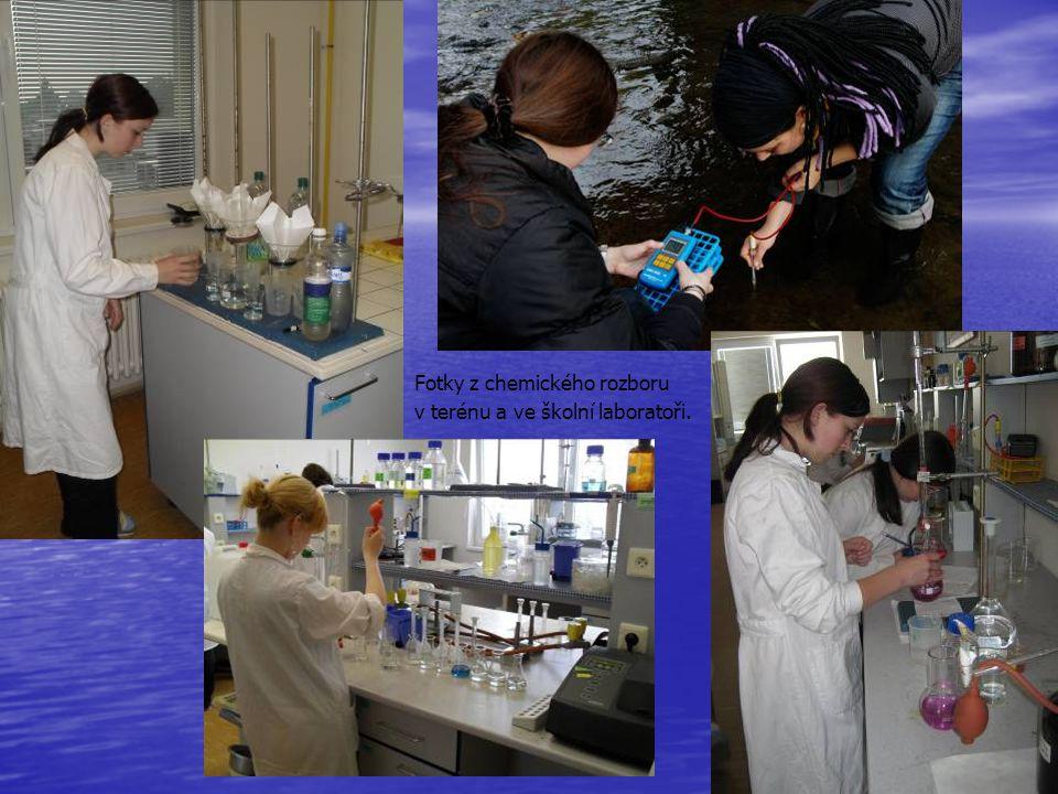 Fotky z chemického rozboru
