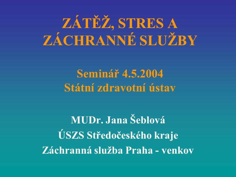 ÚSZS Středočeského kraje Záchranná služba Praha - venkov