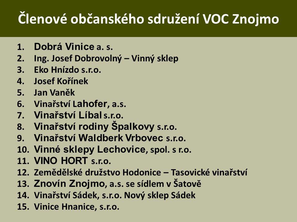 Členové občanského sdružení VOC Znojmo