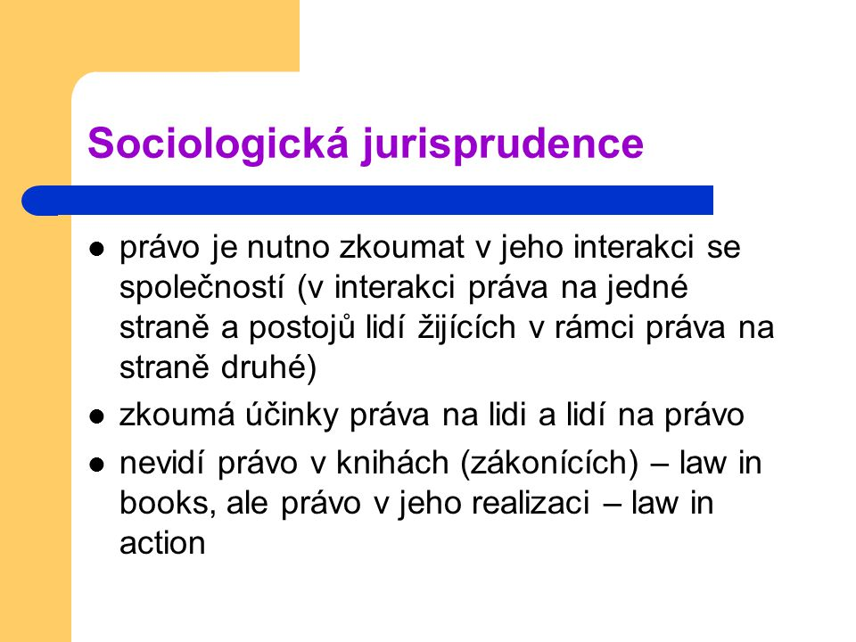 Sociologická jurisprudence