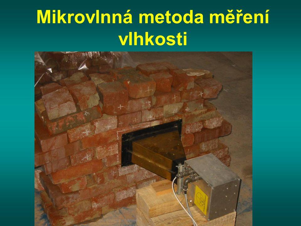 Mikrovlnná metoda měření vlhkosti