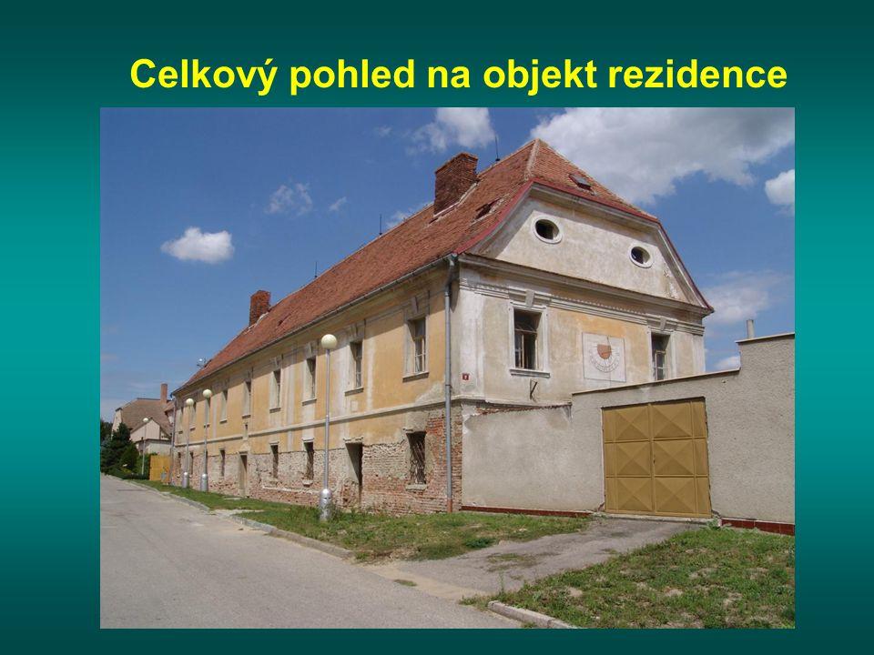 Celkový pohled na objekt rezidence