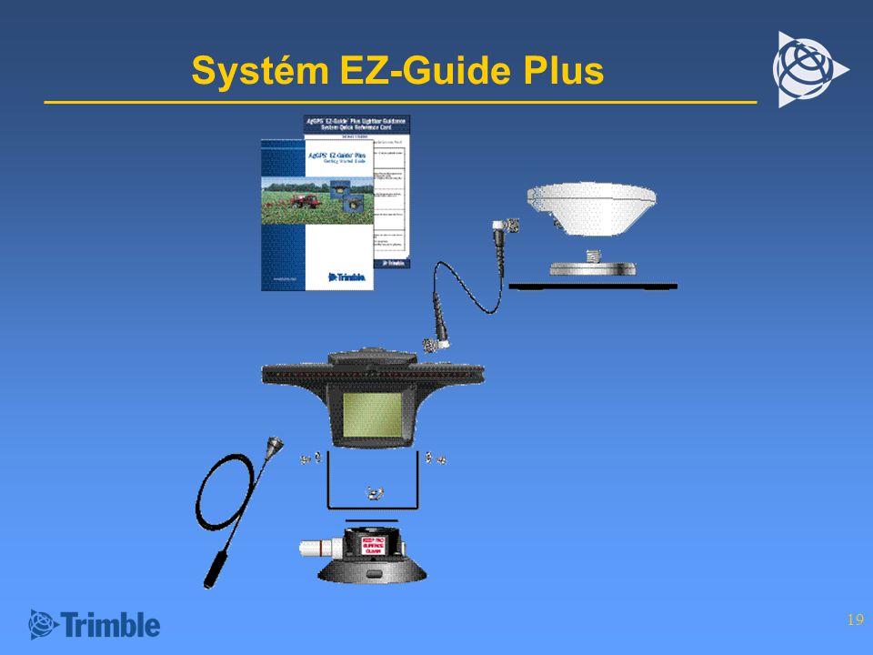 Systém EZ-Guide Plus
