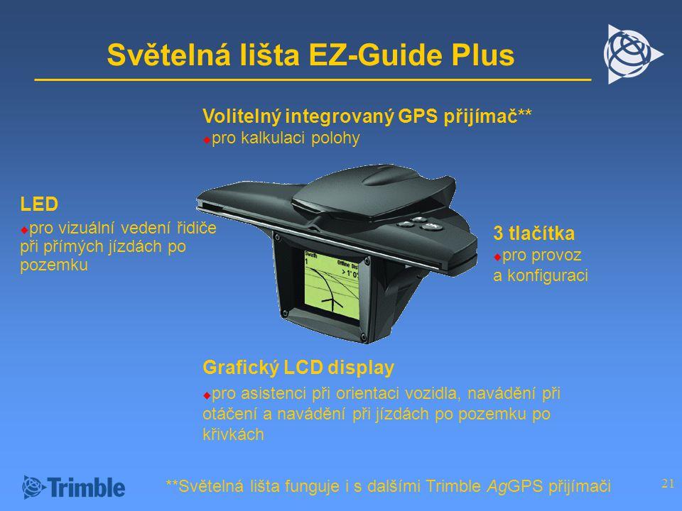 Světelná lišta EZ-Guide Plus
