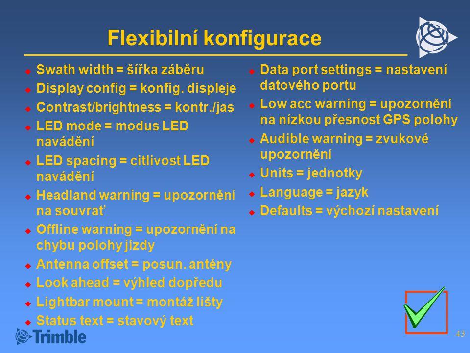 Flexibilní konfigurace