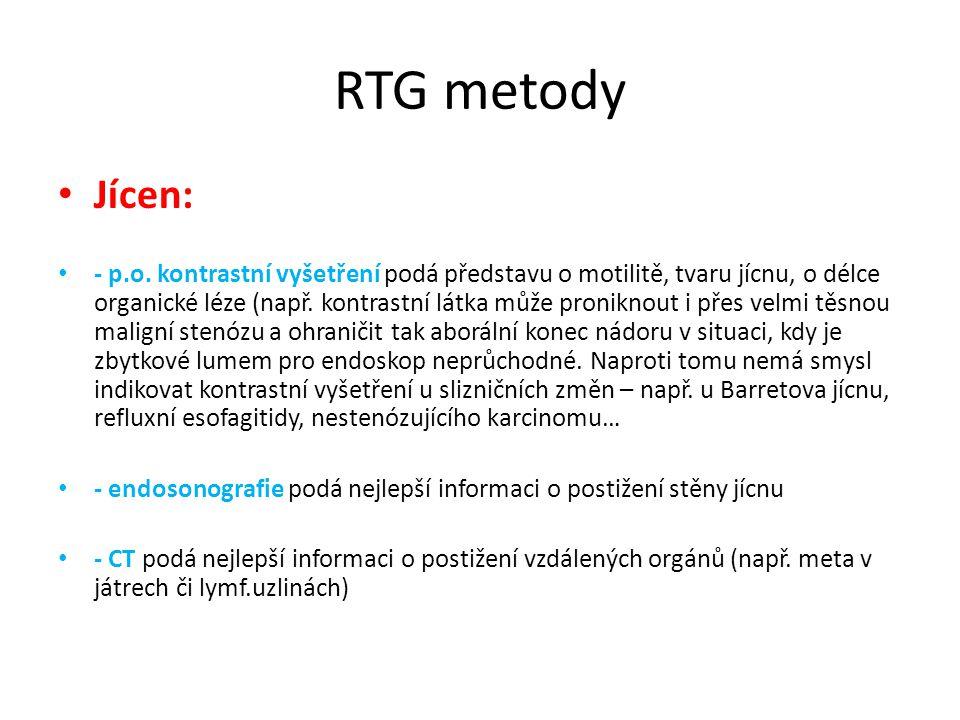 RTG metody Jícen: