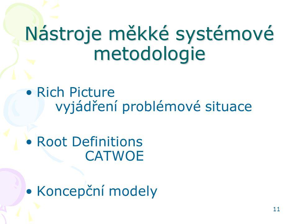 Nástroje měkké systémové metodologie