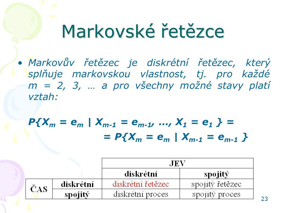 Markovské řetězce