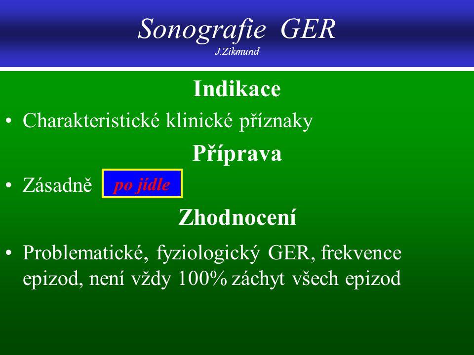 Sonografie GER J.Zikmund