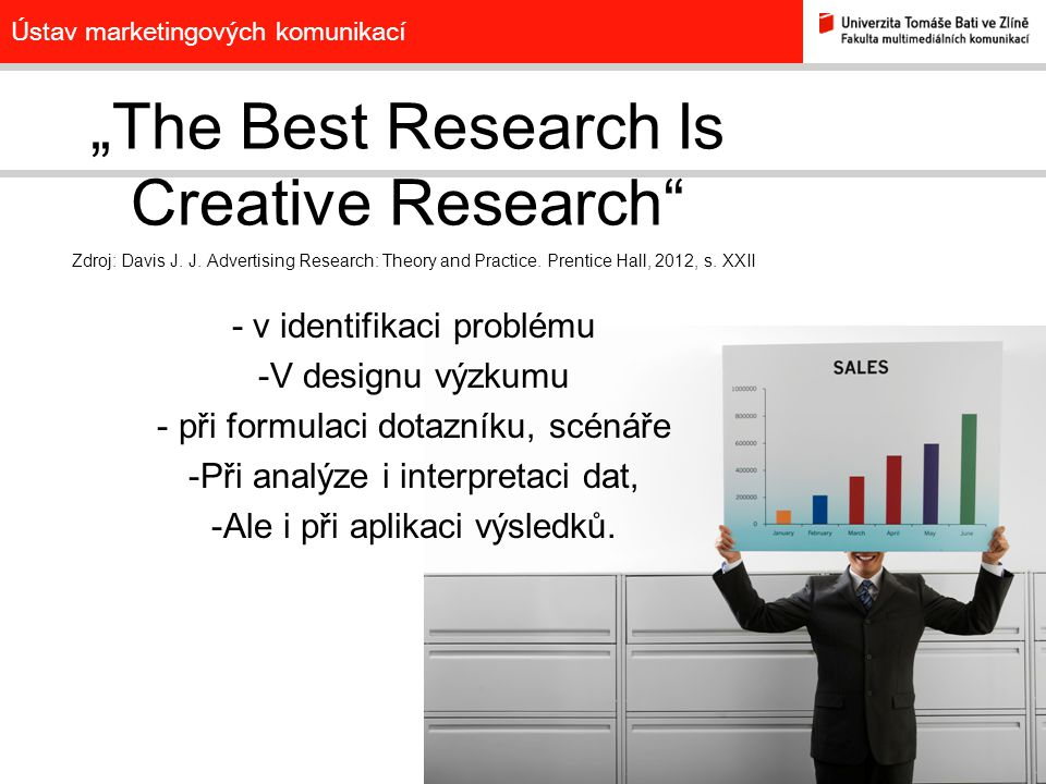 """The Best Research Is Creative Research"