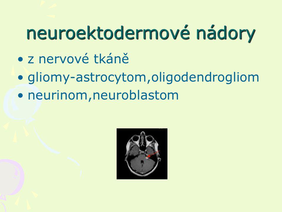 neuroektodermové nádory