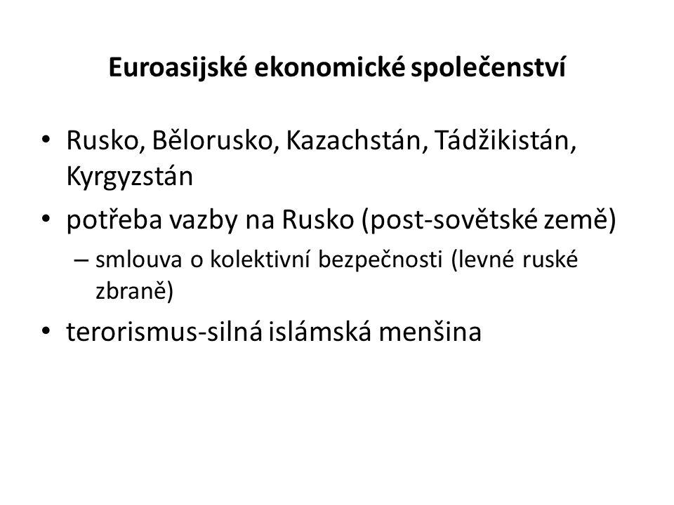 Euroasijské ekonomické společenství