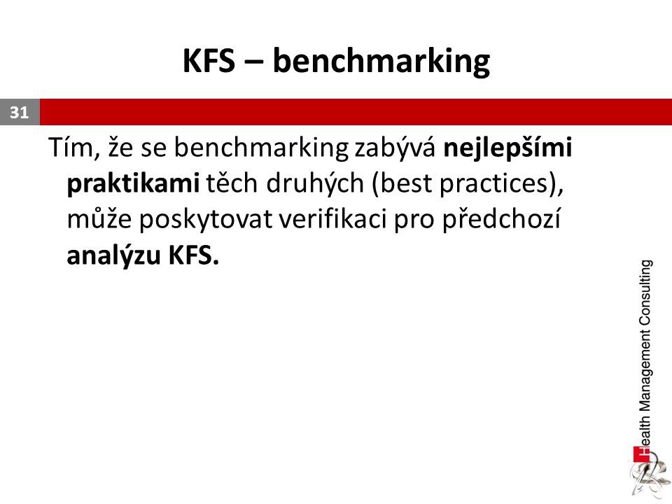KFS – benchmarking