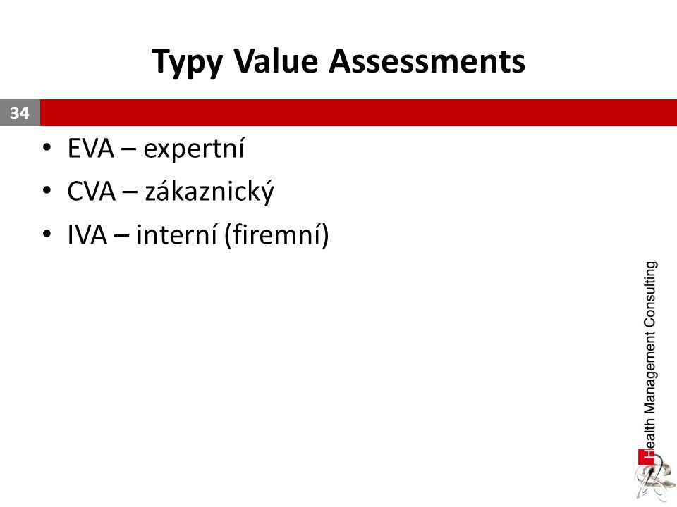 Typy Value Assessments
