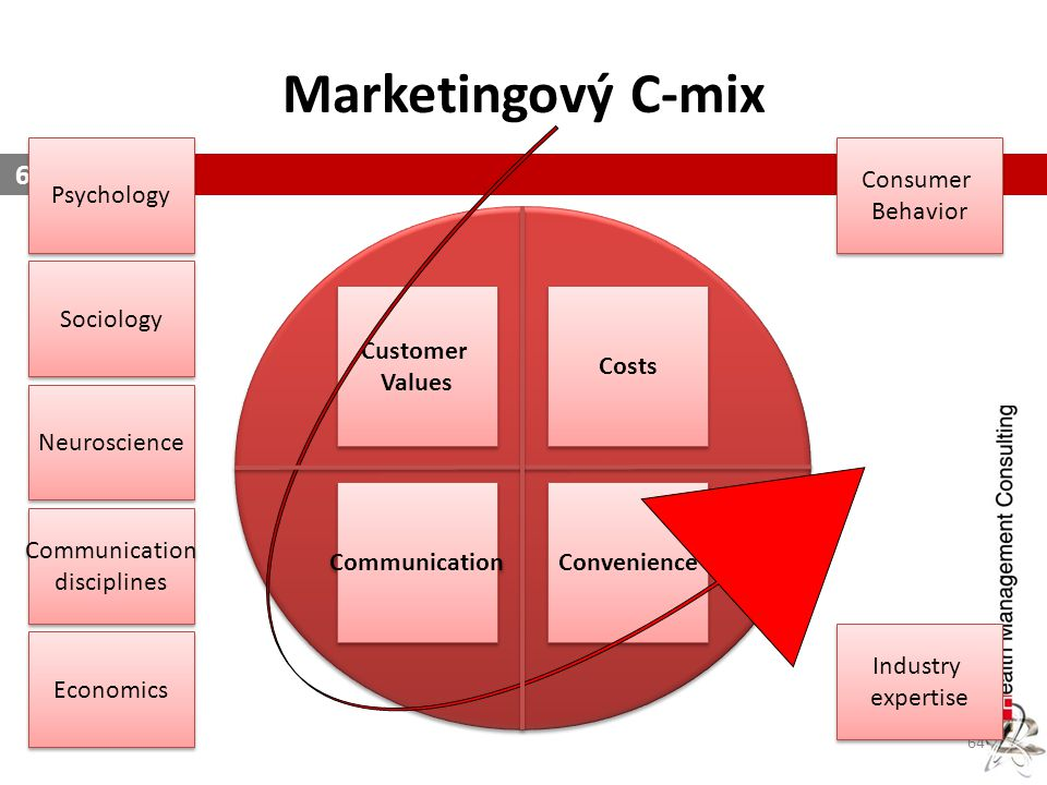 Marketingový C-mix Psychology Consumer Behavior Customer Values