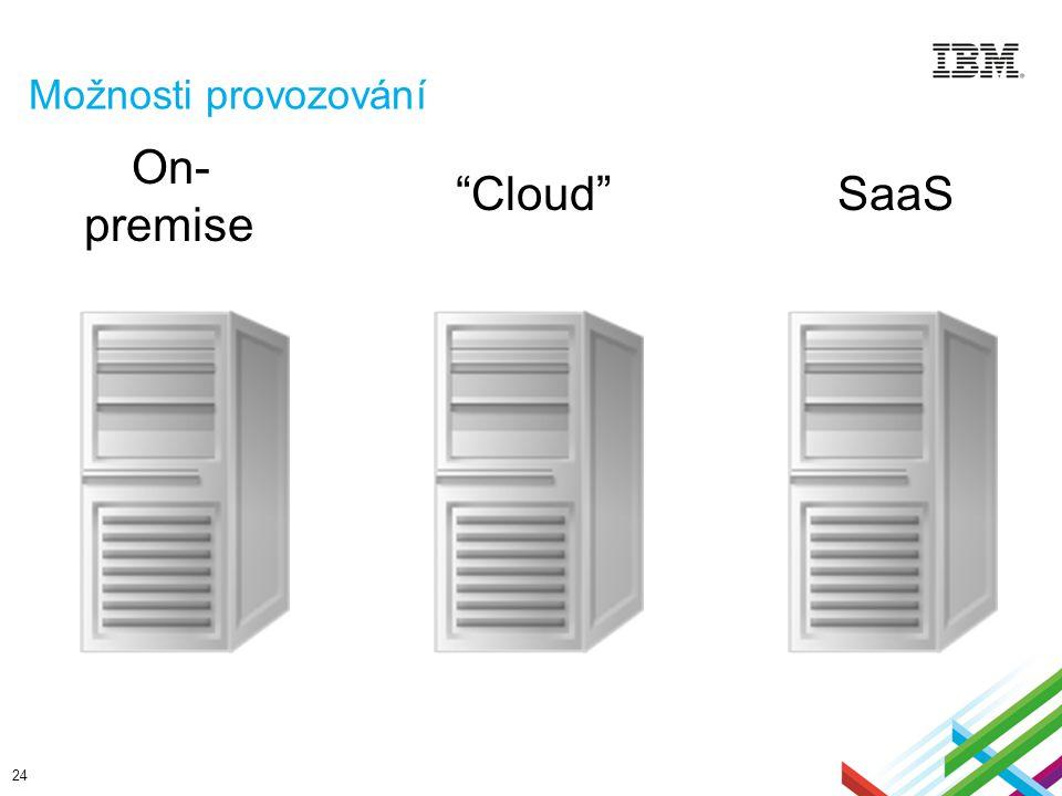 Možnosti provozování On-premise Cloud SaaS
