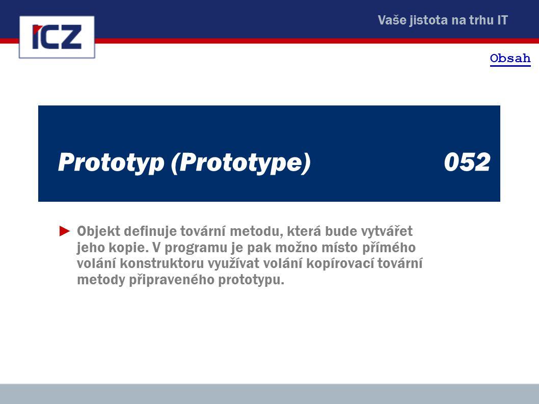 Obsah Prototyp (Prototype) 052.