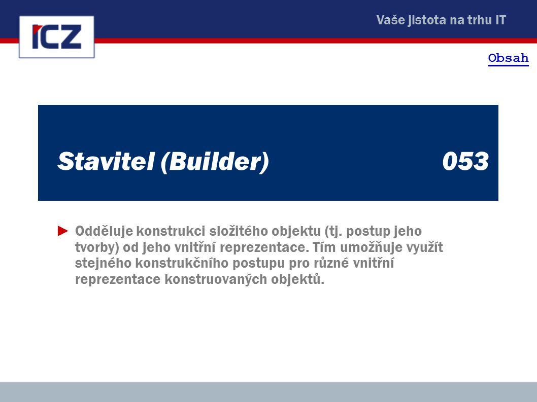 Obsah Stavitel (Builder) 053.