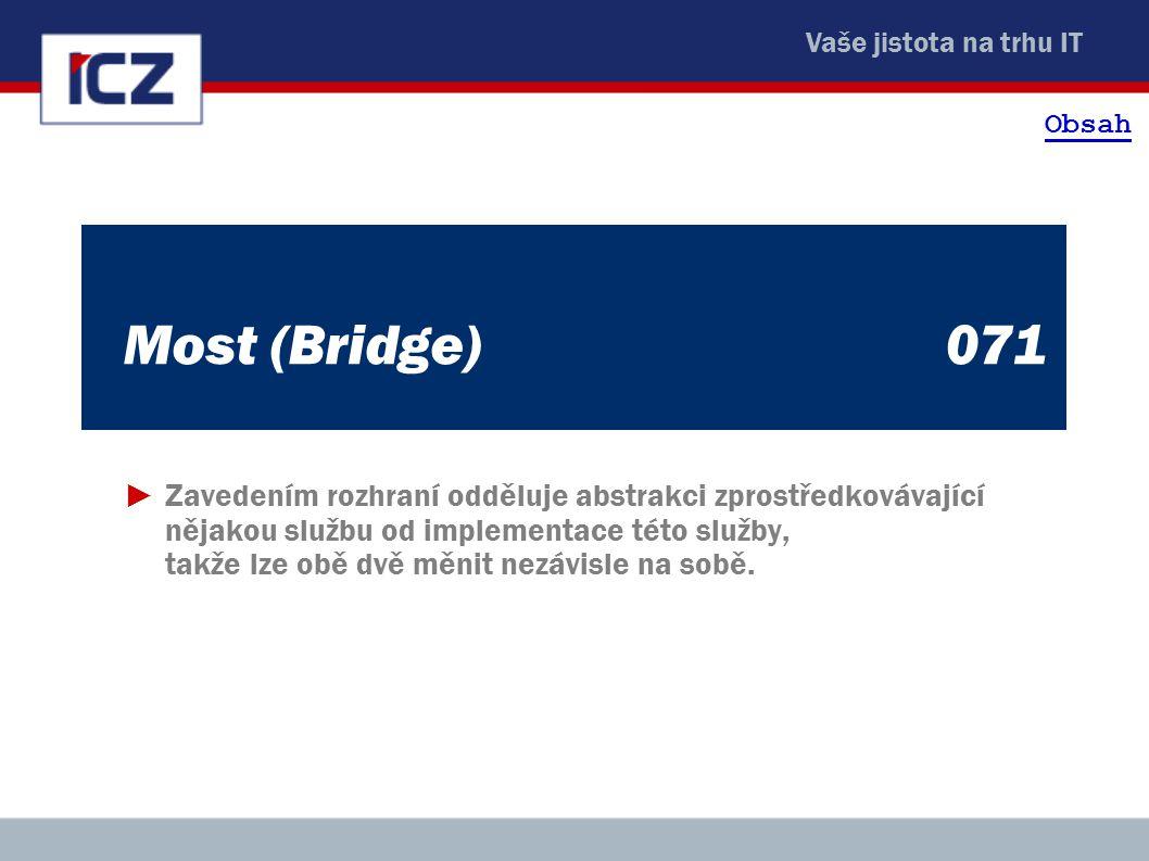 Obsah Most (Bridge) 071.