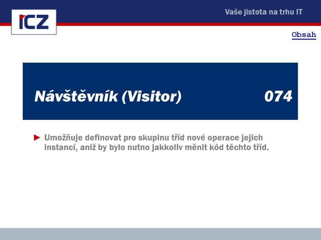 Obsah Návštěvník (Visitor) 074.