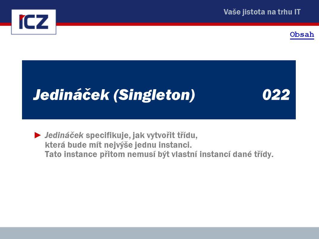 Jedináček (Singleton) 022