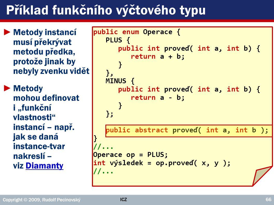 Příklad funkčního výčtového typu