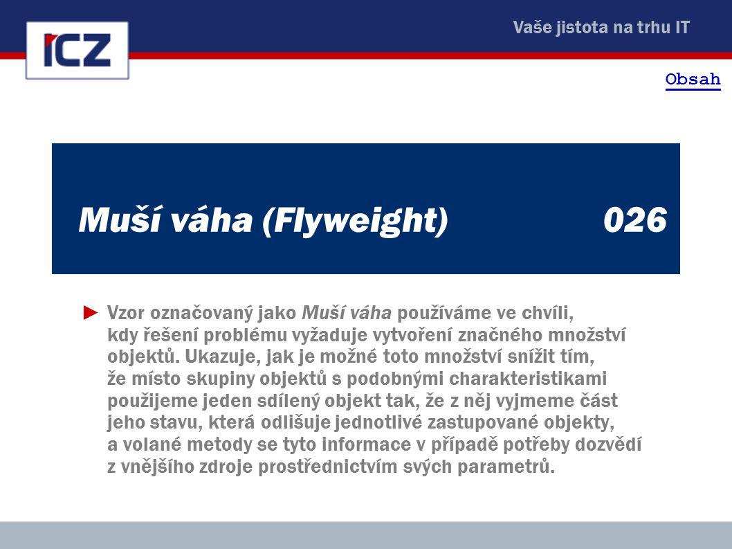 Obsah Muší váha (Flyweight) 026.