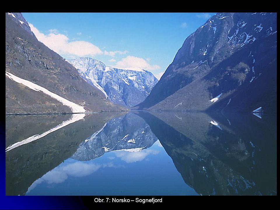 Obr. 7: Norsko – Sognefjord