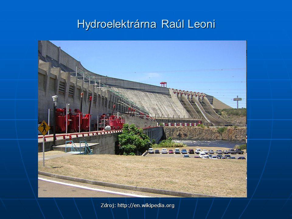 Hydroelektrárna Raúl Leoni