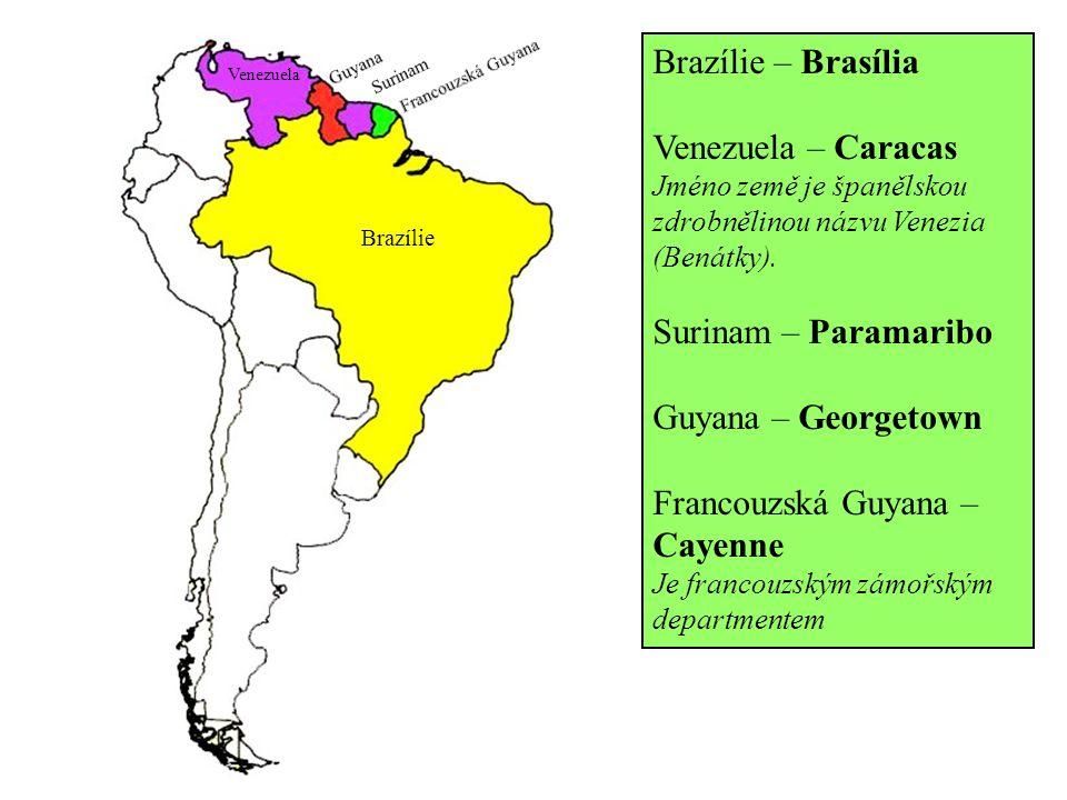 Francouzská Guyana – Cayenne