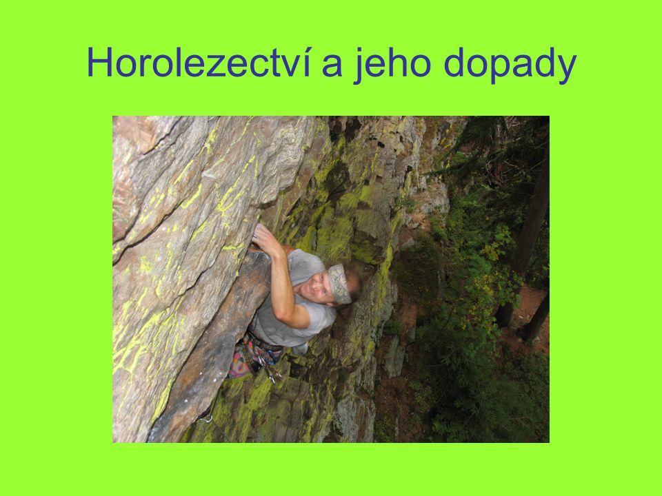 Horolezectví a jeho dopady