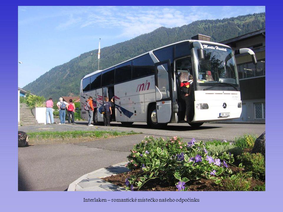 Interlaken – romantické místečko našeho odpočinku