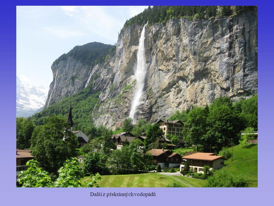 Další z překrásných vodopádů