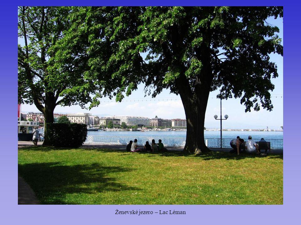 Ženevské jezero – Lac Léman