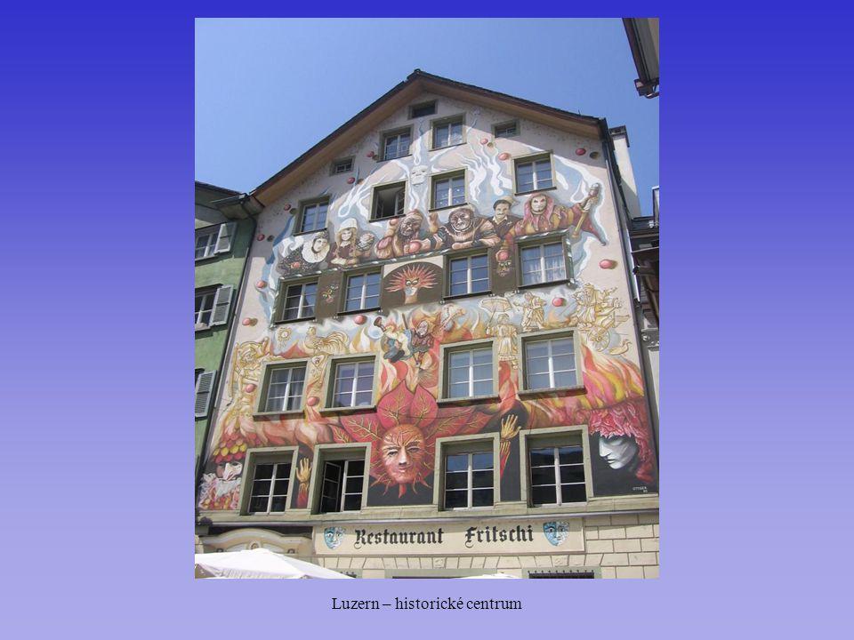 Luzern – historické centrum