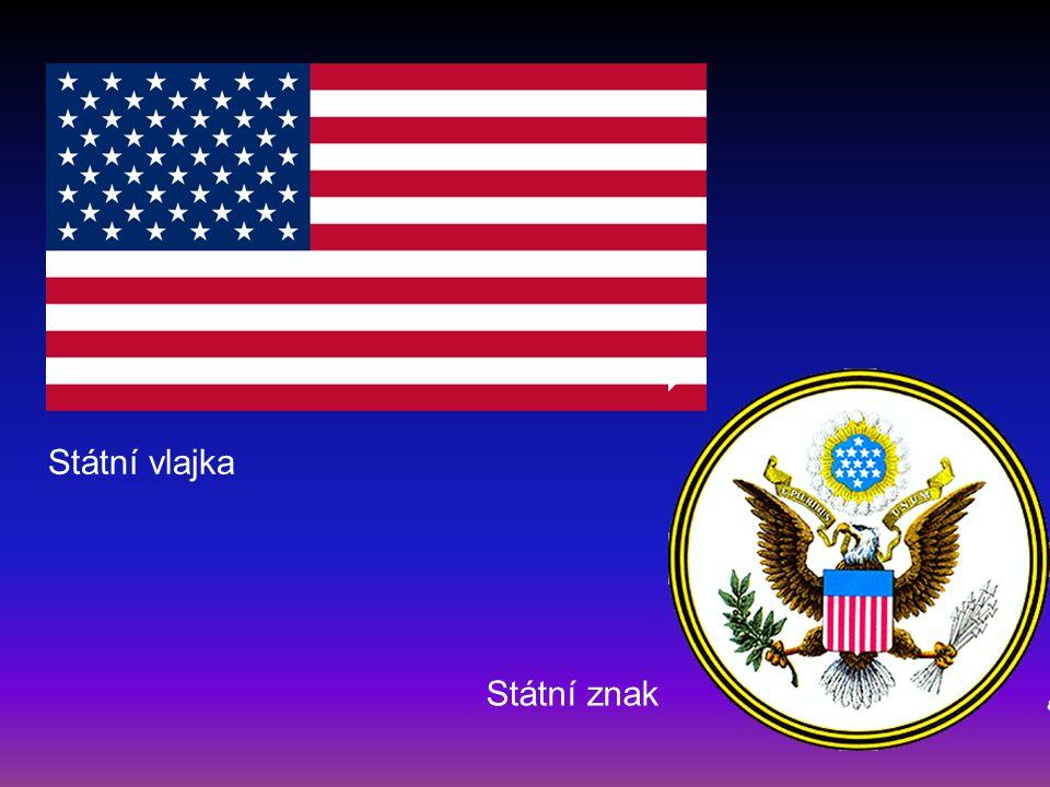 Státní vlajka Státní znak