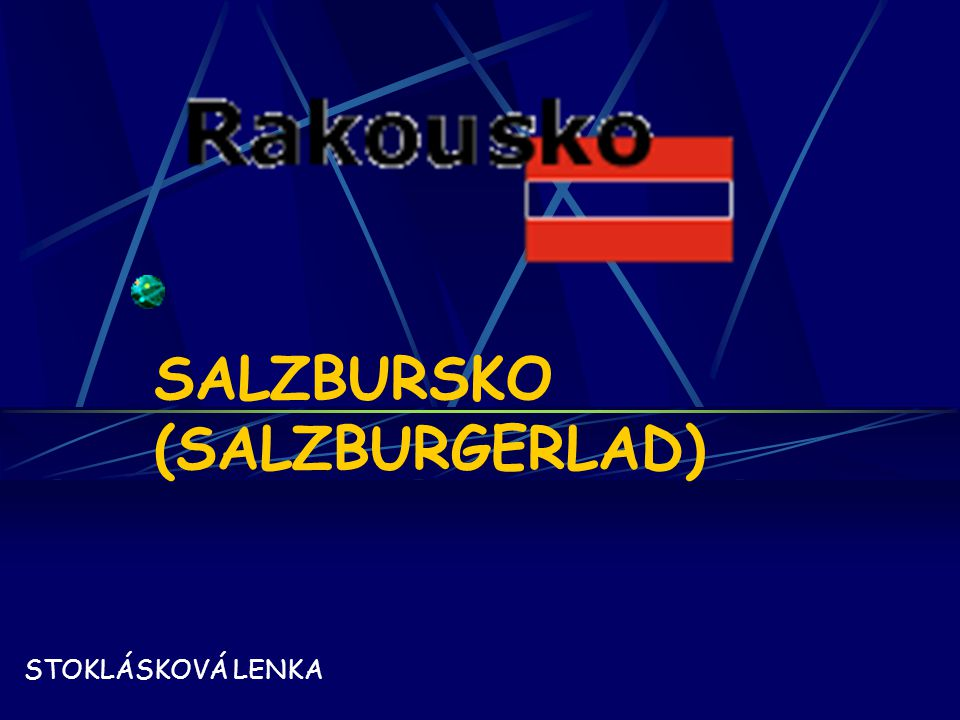 SALZBURSKO (SALZBURGERLAD)