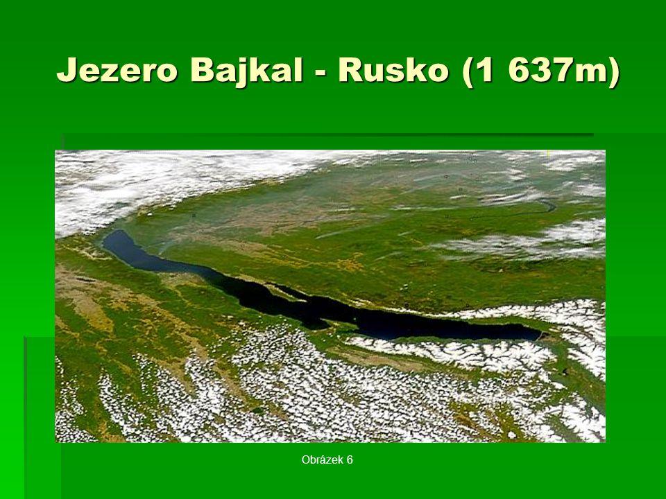Jezero Bajkal - Rusko (1 637m)
