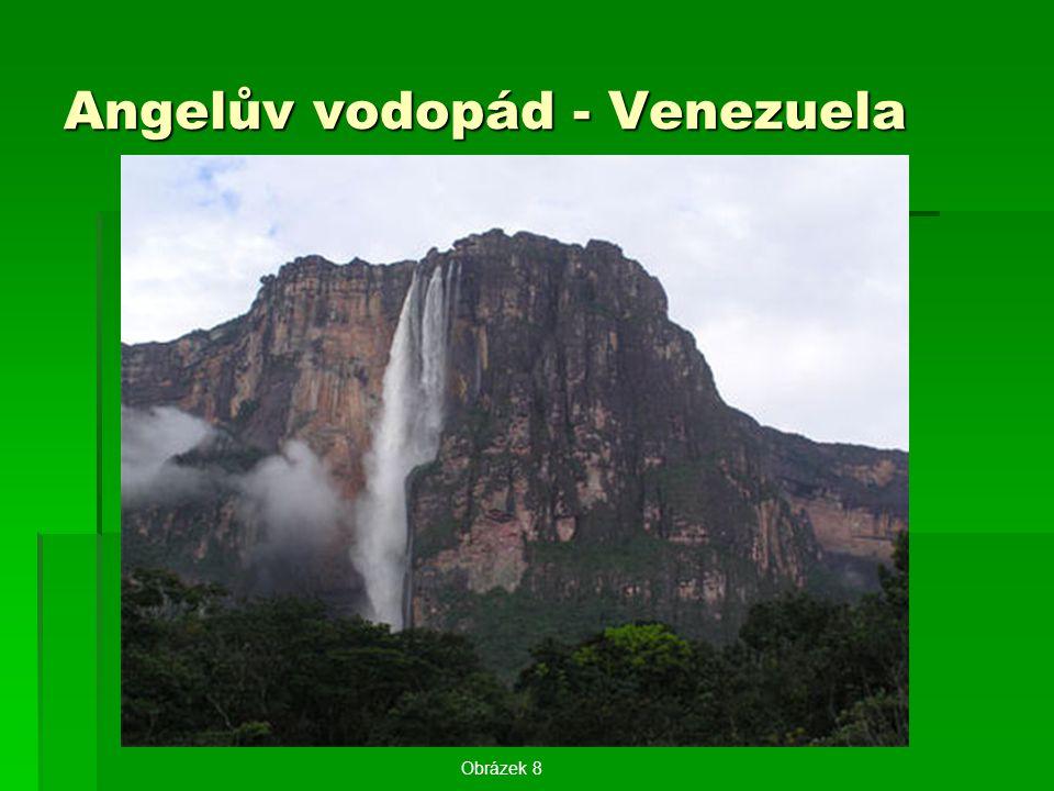 Angelův vodopád - Venezuela